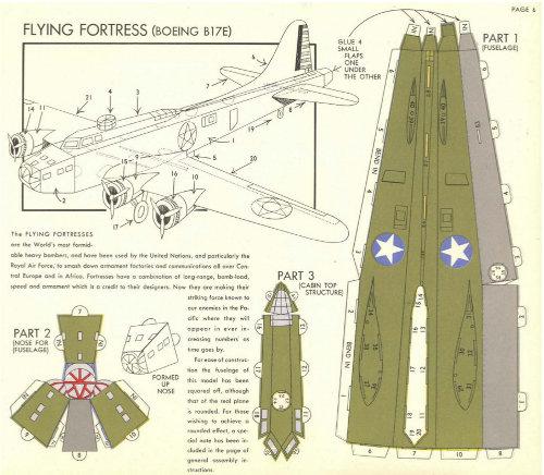 Paper Model Planes
